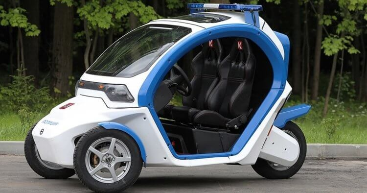 Электрический автомобиль Иж Овум