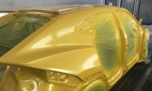 Услуги по покраске кузова авто